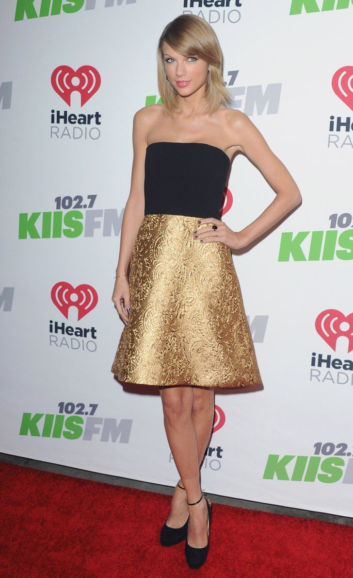 Pin for Later: Taylor Swift Vole la Vedette Lors du Jingle Ball de Los Angeles