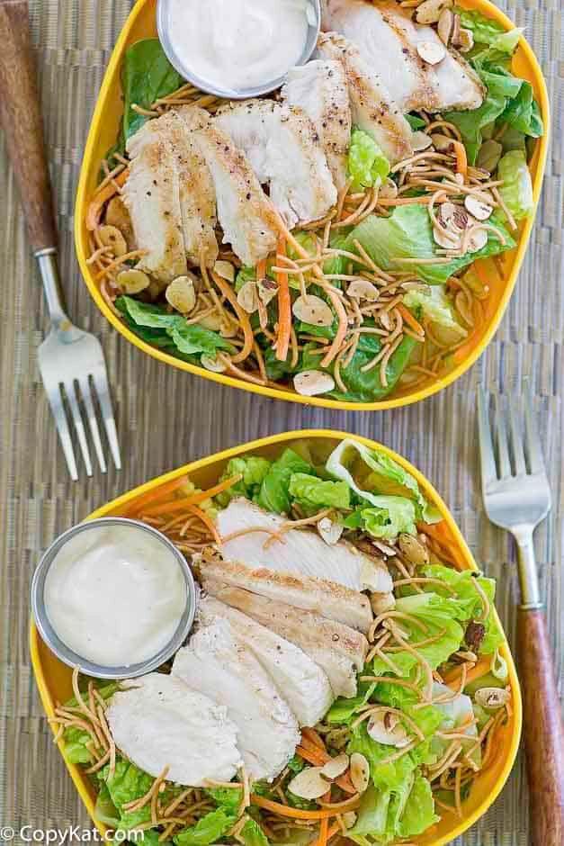 Applebees Grilled Chicken Oriental Salad  Recipe In 2020 -6419