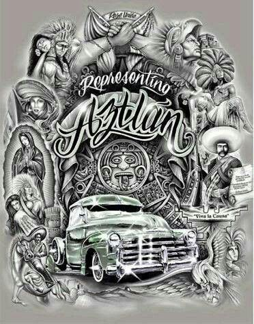 Pin by theresa young urrea on so cal chicano chicano art cholo art lowrider art - Brown pride lowrider ...