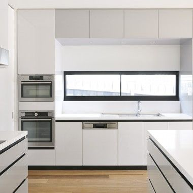 87 best Kitchens images on Pinterest Contemporary unit kitchens