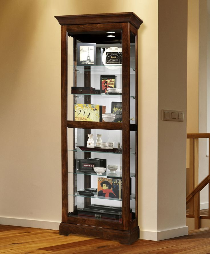 Cherry Curio Cabinet   Heartwood   Home Gallery Stores. 17 Best images about Curio Cabinets and Display on Pinterest