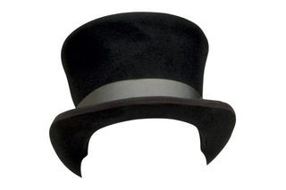 If you need a top hat for an Abraham Lincoln, magician or steampunk costume but don't want to spend a fortune at the costume shop, make your own using inexpensive craft materials. When you create your own basic top hat, you can apply any embellishments you want, such as ribbons, silk flowers or bows, to create a custom look.