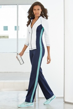Active color-block warm-up in Sport 2013 from Boston Proper on shop.CatalogSpree.com, my personal digital mall.