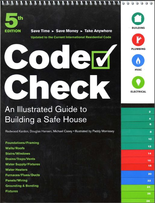 "An illustrated guide to building a safe house ""code check"""