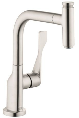 axor kitchen faucet aid crock pot faucets citterio select 1 spray pull out 75 gpm 39861801