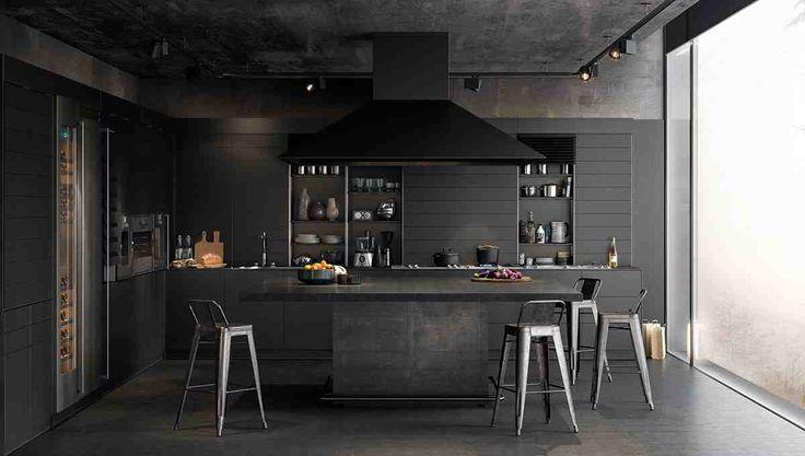 Темные кухни