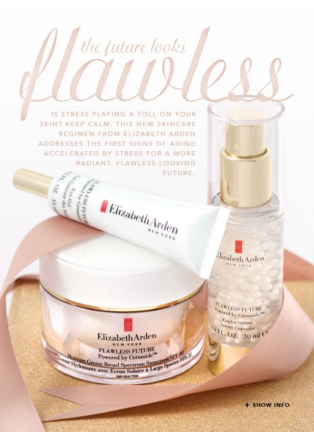 New Elizabeth Arden Flawless Future Skincare. I recieved these products complimentary from @Influenster for testing purposes. #FlawlessFuture #Vitavoxbox