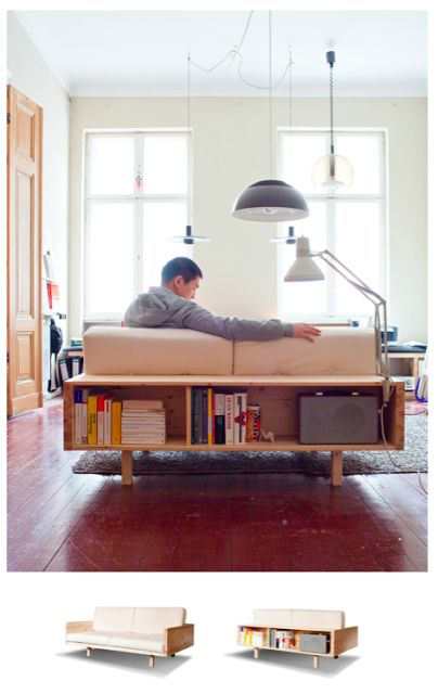 Hartz IV Möbel: Draper Couch