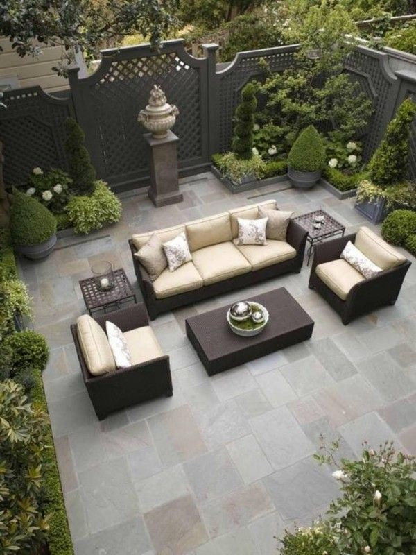 Great ideas for Private Backyard Designs