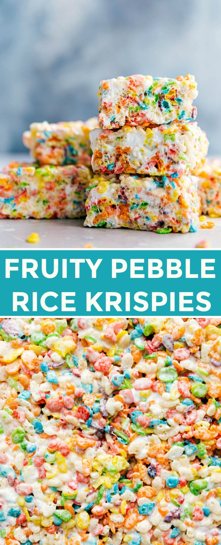 how to make the best fruity pebble rice krispie treats