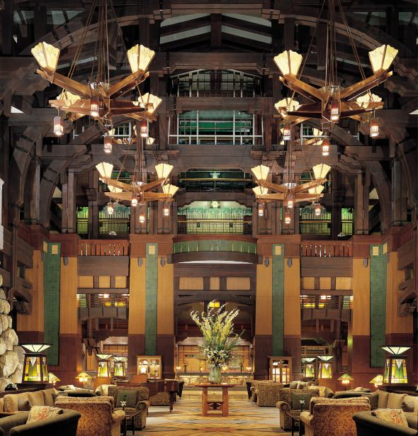 The Disney Grand Californian - Love our Timeshare here!