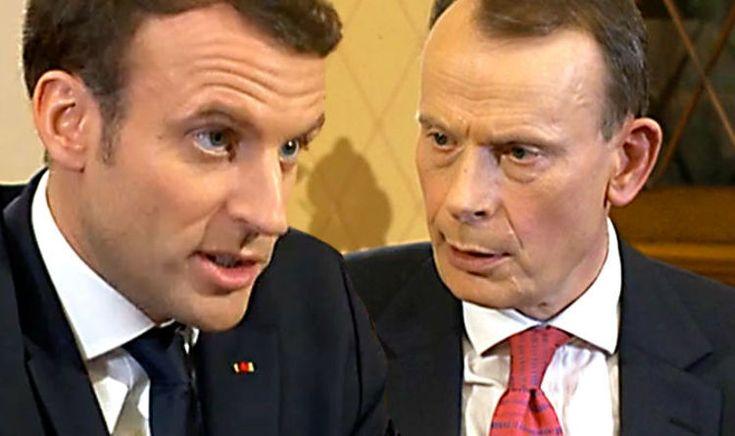 #MACRON ADMITS: #FRANCE WOULD #VOTE TO LEAVE #EU...