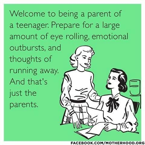 Parent humor   ....  oh yeah!!  Soon to come... Oh wait it's already started!