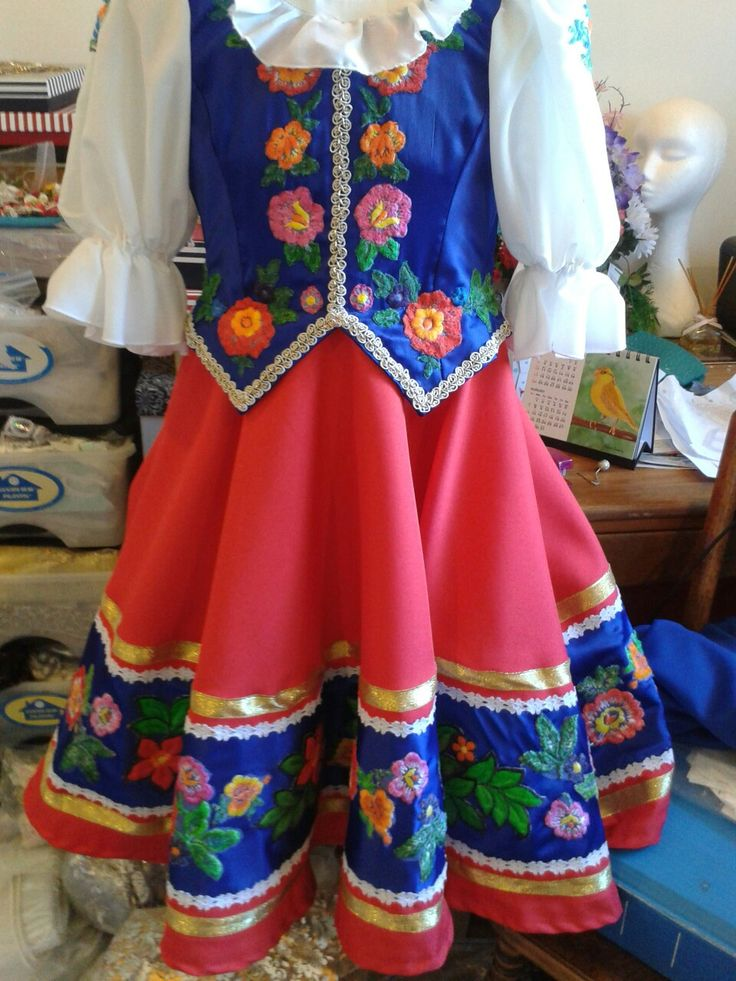 Russian national costume by Margaret Shore
