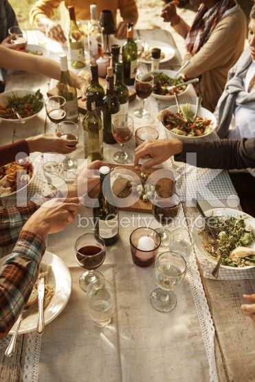 Sharing life's riches royalty-free stock photo