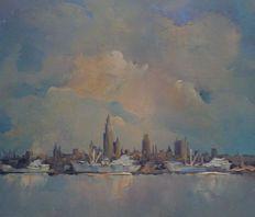 Leo Jordaens (1944-2000) - Anchorage en Amberes