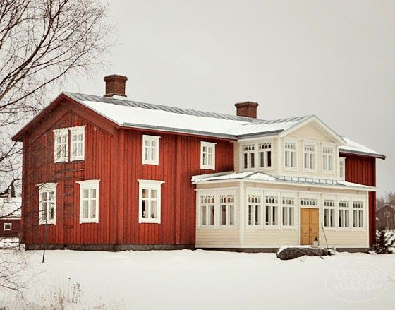 L U N D A G Å R D | imagine christmas in this house, magic... :)