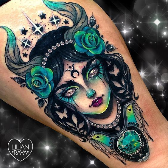 51 Taurus tattoos that are down-to-earth gorgeous – Tattoos – #downtoearth #Gorgeous #tattoos #Taurus
