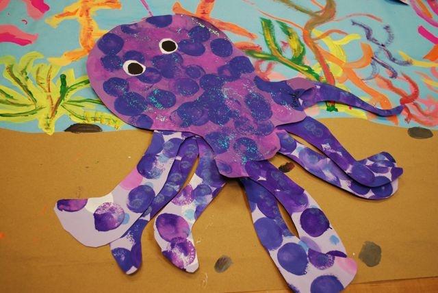 Octopus by paintedpaper, via Flickr