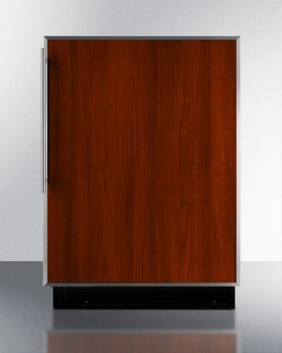 Summit BI605RFR 6.1 Cu. Ft. Custom Panel Undercounter Built-In Compact Refrigerator *** Check this useful article by going to the link at the image. #CompactRefrigerators