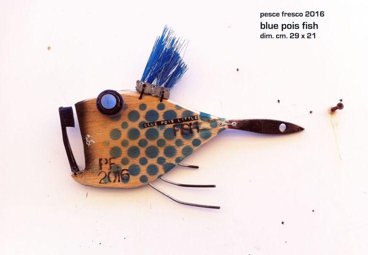 blue pois fish – ArtPesceFresco – Stefano Pilato