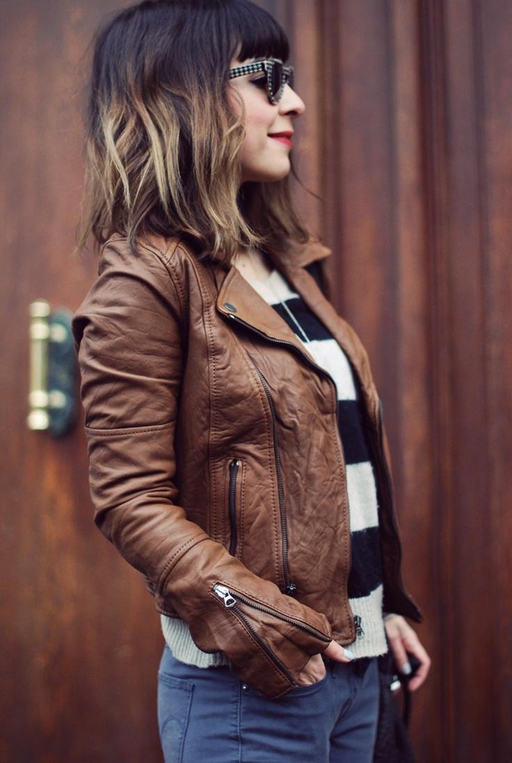 Hair, jacket, style