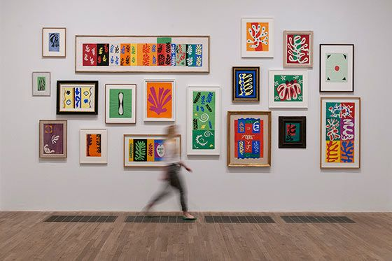 MoMA | Henri Matisse: Henri Matisse: The Cut-Outs. Tate Modern. April 7 - September 17, 2014. Installation view at Tate Modern