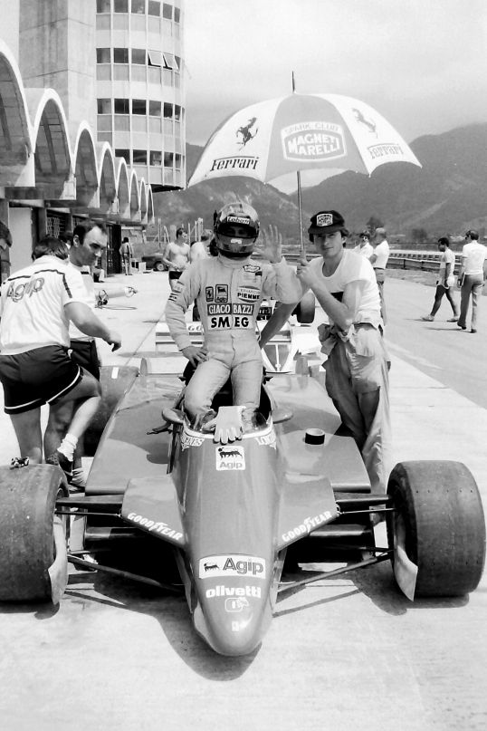 Gilles - the greatest Canadian F1 driver in a Ferrari no less!
