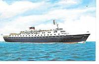 SS STELLA MARIA II SUN LINE OCEAN LINER POSTCARD STANDARD SIZE ...