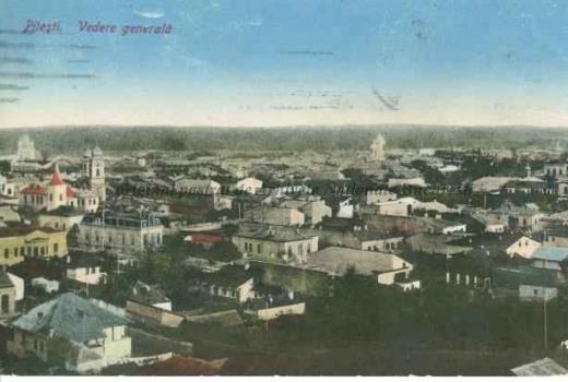 BU-F-01073-5-05582-09 Piteşti, vedere generală, 1922 (niv.Document)