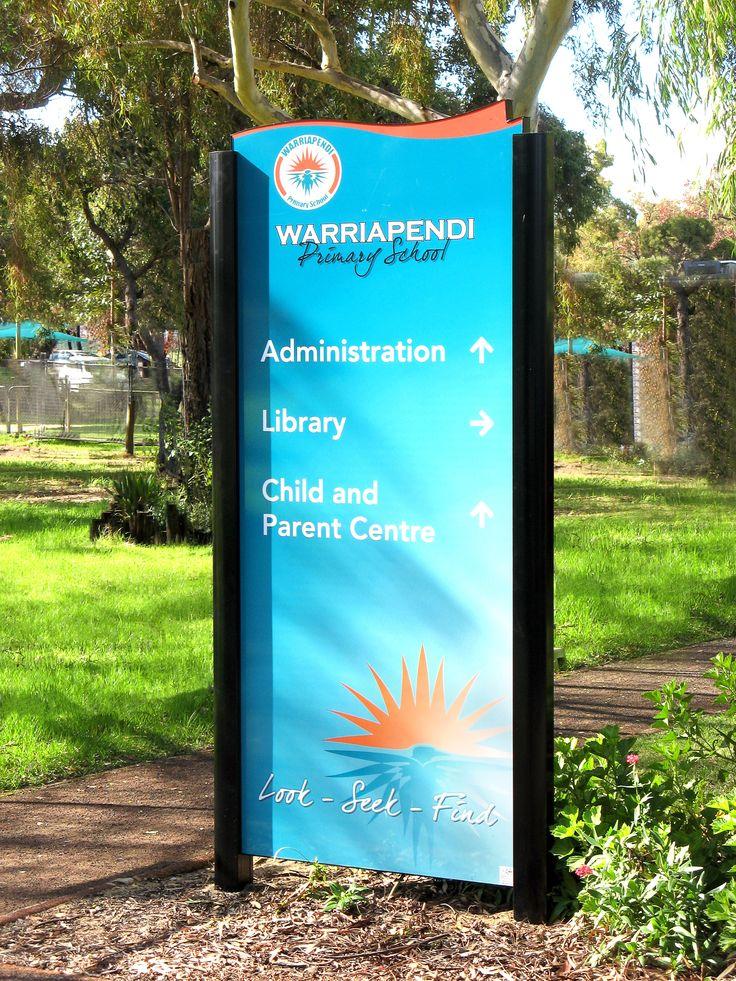 Warriapendi High School #Panel #signage