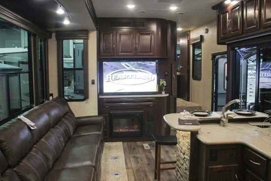 2015 Used Heartland Cyclone 4200 Toy Hauler in Florida FL.Recreational Vehicle, rv, 2015 Heartland Cyclone 4200, 2015 Toy hauler Heartland Cyclone 4200, PRACTICALLY BRAND NEW show stopping fifth wheel! Cyclone 4200 HD edition. Owned only a few months and due to personal circumstance must sell. Its like an apartment on wheels. Fully loaded. 2 patios 2 bathrooms with toilet, shower and tub in each 4 tvs (one is on the outside patio) 3 air conditioning units full size refrigerator (runs on…