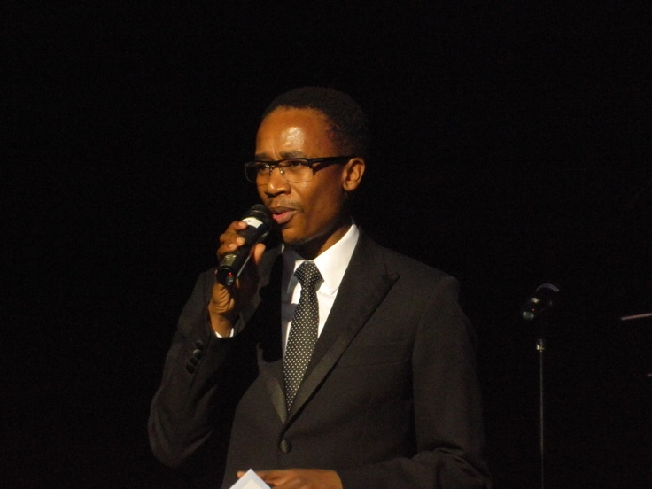 Lupi Ngcayisa was our host at the Road To Joy Of Jazz at Lyric Theatre.