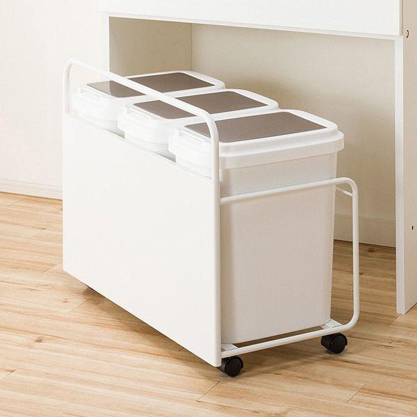 ニトリ キャスター付きダストワゴン Ntr3連 通販 インテリア 家具