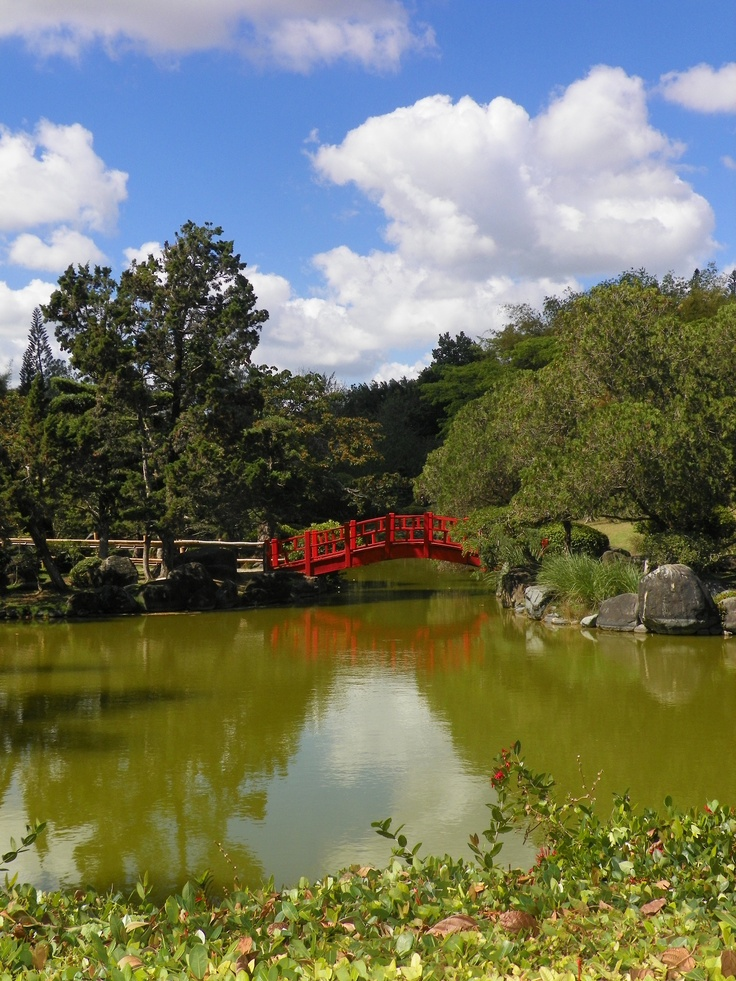 Santo Domingo, Dominican Republic~ The Japanese Garden is the highlight of the tour of the Botanical Gardens in santo Domingo.