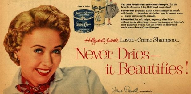 10 vintage make-up ads that may surprise you