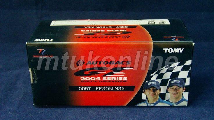 TOMICA TL 57 HONDA NAKASHIMA EPSON NSX #32 | 78mm | JGTC 2004 GT500 CLASS