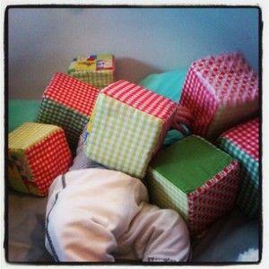 ♡ Tuto : Petits cubes | Mes tutos - Couture - Déco - Blog Maman Barcelone