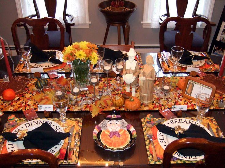 Thanksgiving Table Settings | little bit of everything: Table Setting: Thanksgiving Tables