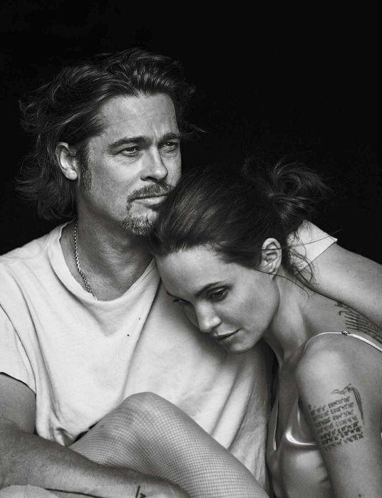 Brad Pitt - Angelina Jolie - Vanity Fair Italie