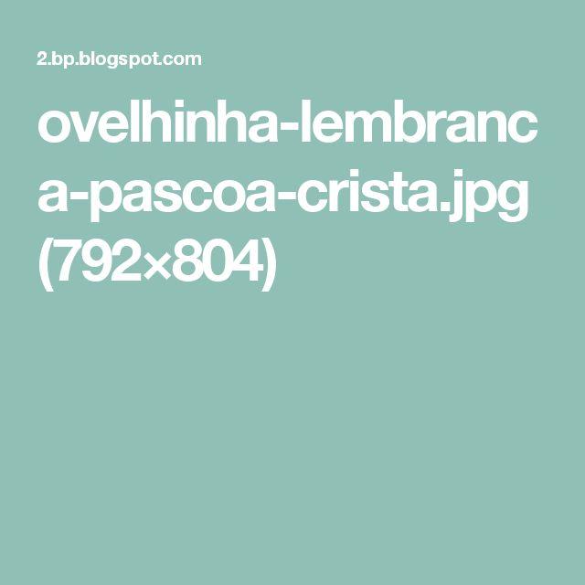ovelhinha-lembranca-pascoa-crista.jpg (792×804)