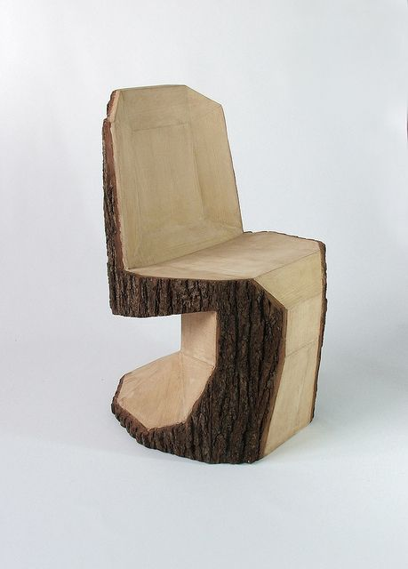 diy chair..... (dont chop just any tree)