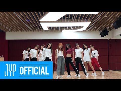 TWICE Dance The Night Away Dance Video NEW JYP Practice Room Ver YouTube