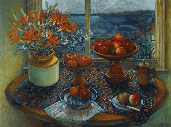 Still Life with Apples, Margret OLLEY