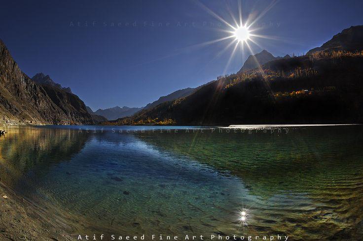 Khalti Lake, Gupis, Ghizer, Pakistan