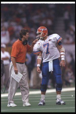 Danny Wuerffel and Steve Spurrier