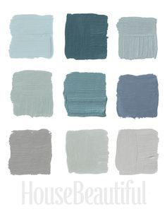 Some fantastic gray wall colors!