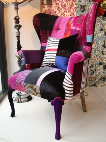The Squint wing - the squint website is fairyland for mixed upholstery - there isn't a single item that I wouldn't want!