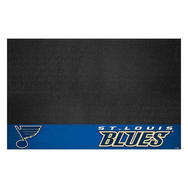 St. Louis Blues NHL Vinyl Grill Mat(26x42)