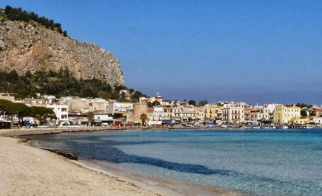 Bay in Mondello